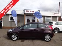 USED 2010 10 FORD FIESTA 1.6 ZETEC TDCI 3DR DIESEL 90 BHP £20 A YEAR ROAD TAX +++SPRING SALE NOW ON+++
