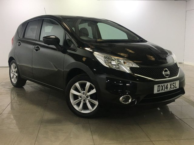View our 2014 14 NISSAN NOTE 1.2 TEKNA COMFORT DIG-S 5d 98 BHP