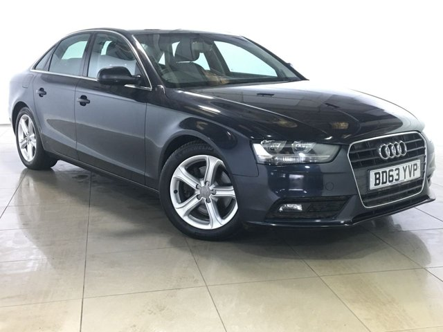 View our 2014 63 AUDI A4 2.0 TDI SE 4d 134 BHP