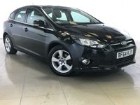 USED 2014 64 FORD FOCUS 1.6 ZETEC NAVIGATOR ECONETIC TDCI START/STOP 5d 104 BHP 1 Owner/Sat Nav/Bluetooth/DAB