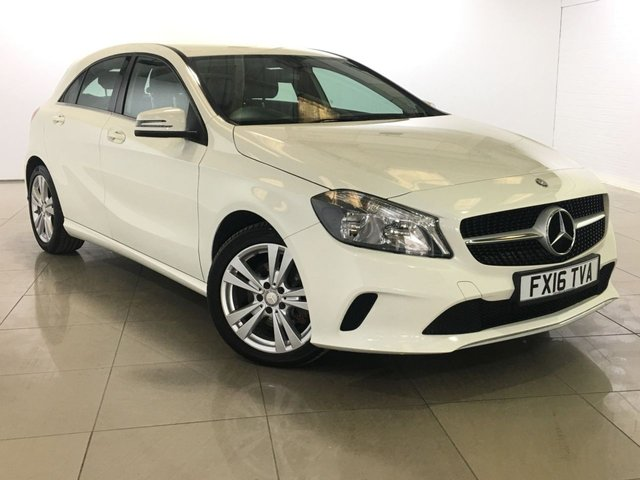 View our 2016 16 MERCEDES-BENZ A CLASS 2.1 A 200 D SPORT 5d 134 BHP