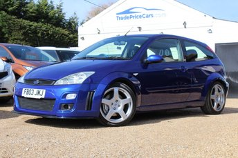 2003 FORD FOCUS 2.0 RS 3d 215 BHP £15995.00