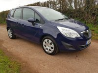 USED 2012 62 VAUXHALL MERIVA 1.4 EXCLUSIV A/C 5d 99 BHP **1 OWNER**SUPERB DRIVE**GREAT CONDITION**