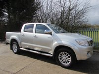 USED 2014 63 TOYOTA HILUX 3.0 INVINCIBLE 4X4 D-4D DCB 1d 169 BHP Price Includes VAT