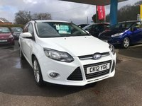 USED 2012 12 FORD FOCUS 1.0 ZETEC 5d 124 BHP