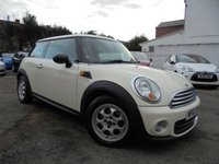 USED 2012 62 MINI HATCH ONE 1.6 ONE 3d 98 BHP ***MAIN DEALER HISTORY - LOW LOW MILES***