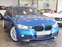 USED 2014 14 BMW 3 SERIES 2.0 320D XDRIVE M SPORT 4d 181 BHP RED-LTHR+H-KARDON+XENONS+FSH