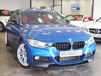 2014 BMW 3 SERIES 2.0 320D XDRIVE M SPORT 4d 181 BHP £15990.00