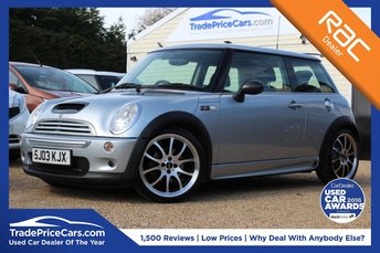 2003 MINI HATCH COOPER 1.6 COOPER S JOHN COOPER WORKS 3d 161 BHP £6995.00