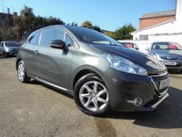 USED 2014 14 PEUGEOT 208 1.0 ACTIVE 3d 68 BHP ***LOW MILES - CHEAP TO INSURE***