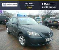 2006 MAZDA 3 1.6 TS 5d AUTO 105 BHP £2299.00