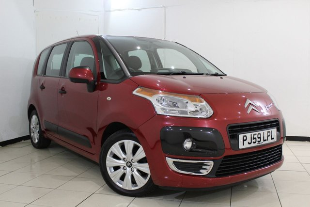 View our 2009 59 CITROEN C3 PICASSO 1.6 PICASSO VTR PLUS HDI 5DR 90 BHP