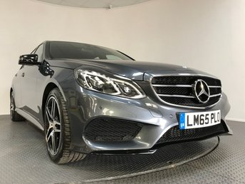 2015 MERCEDES-BENZ E CLASS 2.1 E220 BLUETEC AMG NIGHT EDITION 4d AUTO 174 BHP £18600.00