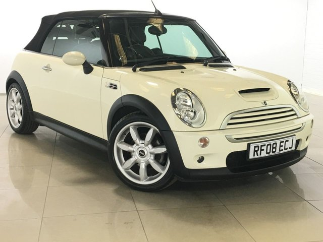 View our 2008 08 MINI CONVERTIBLE 1.6 COOPER S SIDEWALK 2d 168 BHP
