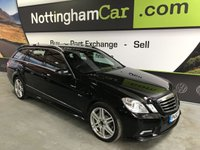 2010 MERCEDES-BENZ E CLASS 2.1 E220 CDI BLUEEFFICIENCY SPORT 5d AUTO 170 BHP £9995.00