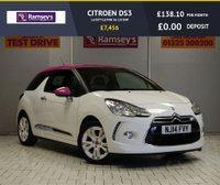 USED 2014 14 CITROEN DS3 1.6 DSTYLE PINK 3d 120 BHP