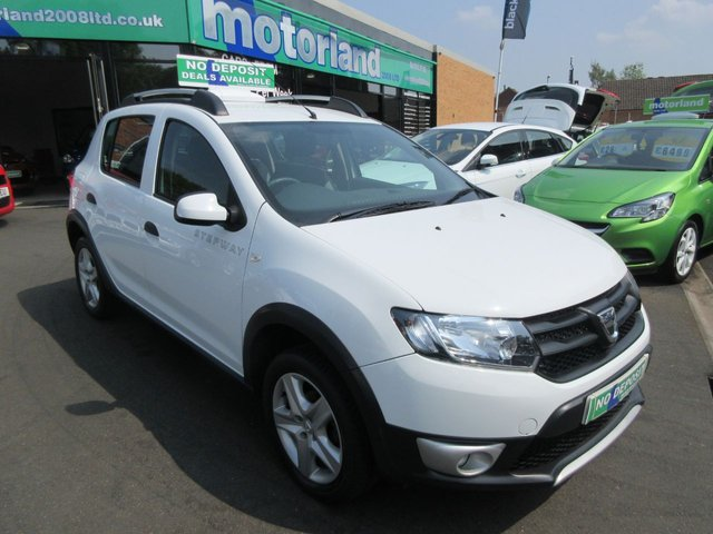 USED 2014 63 DACIA SANDERO 0.9 STEPWAY AMBIANCE TCE 5d 90 BHP **JUST ARRIVED**TEST DRIVE TODAY**FINANCE AVAILABLE**