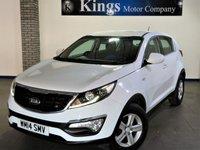 2014 KIA SPORTAGE 1.7 CRDI 1 5dr eCO Dynamics £9981.00