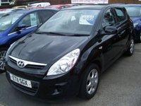 2011 HYUNDAI I20 1.2 COMFORT 5d 77 BHP £4595.00
