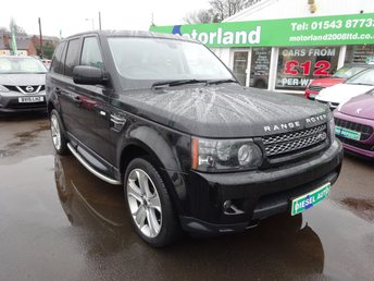 2012 LAND ROVER RANGE ROVER SPORT 3.0 SDV6 HSE LUXURY 5d AUTO 255 BHP £SOLD