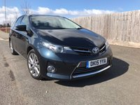 2015 TOYOTA AURIS 1.8 VVT-I EXCEL 5d AUTO 98 BHP £13850.00