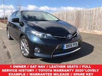 2015 TOYOTA AURIS 1.8 VVT-I EXCEL 5d AUTO 98 BHP £13385.00
