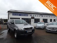 USED 2015 65 TOYOTA HI-LUX 2.5 ACTIVE 4X4 D-4D DCB 1d 142 BHP