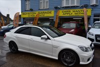 USED 2013 MERCEDES-BENZ E CLASS  E63 AMG 4d AUTO 557 BHP 5.5 TWIN TURBO THE CAR FINANCE SPECIALIST