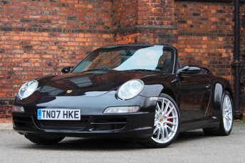 2007 PORSCHE 911 3.8 997 Carrera 4S Cabriolet AWD 2dr £29977.00