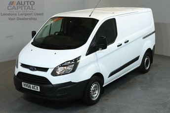 2016 FORD TRANSIT CUSTOM 2.2 290 L1 H1 SHORT WHEELBASE LOW ROOF 5d 99 BHP £10470.00