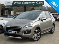 USED 2016 16 PEUGEOT 3008 1.6 BLUE HDI S/S ALLURE 5d 120 BHP High Specification Crossover