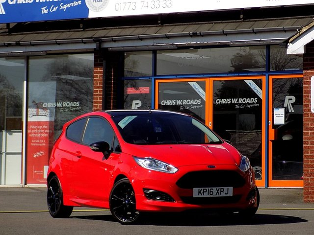 USED 2016 16 FORD FIESTA 1.0 ZETEC S RED EDITION 3dr (140) *ONLY £20 Road Tax*