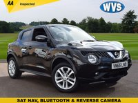 USED 2015 65 NISSAN JUKE 1.2 N-CONNECTA DIG-T 5d 115 BHP An economical and cheap to insure October 2015 Nissan Juke 1.2 Connecta in black for just £9999, complete with an independent AA report.