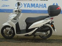 USED 2012 12 HONDA NSC VISION 50cc **HPI CLEAR**  **FINANCE AVAILABLE**
