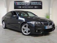 2014 BMW 5 SERIES 2.0 520D M SPORT 4d AUTO 188 BHP £13480.00