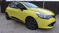 USED 2014 14 RENAULT CLIO 0.9 DYNAMIQUE MEDIANAV ENERGY TCE S/S 5dr Sat Nav, 1 Owner, £20 Tax