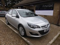 USED 2013 63 VAUXHALL ASTRA 1.6 ENERGY 5d 113 BHP # 1 OWNER FROM NEW # 19,000 MILES # 4 SERVICE STAMPS # 2 KEYS #