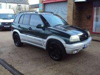 2003 SUZUKI GRAND VITARA 2.0 TD 5d 108 BHP £2199.00