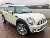 2007 MINI HATCH COOPER 1.6 COOPER 3d AUTO 118 BHP £SOLD