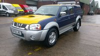 USED 2005 54 NISSAN NAVARA 2.5 DOUBLE CAB DI SWB 4d 131 BHP 1 OWNER F/S/H VERY LOW MILES 27K \ FREE 12 MONTHS WARRANTY COVER ///