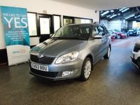 USED 2013 63 SKODA FABIA 1.6 ELEGANCE TDI CR 5d 103 BHP This Fabia Elegance Estate TDi 105 BHP is finished in metallic steel grey with Black cloth seats. It is fitted with power steering, rear park assist, cruise control, remote locking, electric windows and mirrors, climate control, aux port, multi function display, alloy wheels, isofix seats, CD Stereo and more. It has had one private owner and comes with a full service history consisting of 5 Skoda stamps done @ 9485/18839/28314/37963/47843/ &1 independent stamp last done at 57903 in Jan 2018