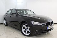 USED 2014 14 BMW 3 SERIES 2.0 318D SE 4DR 141 BHP FULL SERVICE HISTORY + SAT NAVIGATION + BLUETOOTH + PARKING SENSOR + CRUISE CONTROL + MULTI FUNCTION WHEEL + CLIMATE CONTROL + 17 INCH ALLOY WHEELS