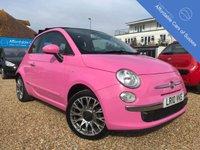 2010 FIAT 500 1.2 C POP 3d 69 BHP £6995.00