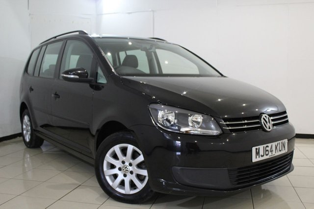 View our 2014 64 VOLKSWAGEN TOURAN 1.6 S TDI BLUEMOTION TECHNOLOGY 5DR 103 BHP