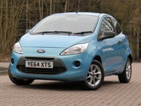USED 2014 64 FORD KA 1.2 STUDIO PLUS 3d 69 BHP