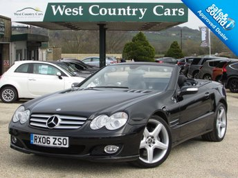 2006 MERCEDES-BENZ SL 5.5 SL500 2d AUTO 383 BHP £SOLD