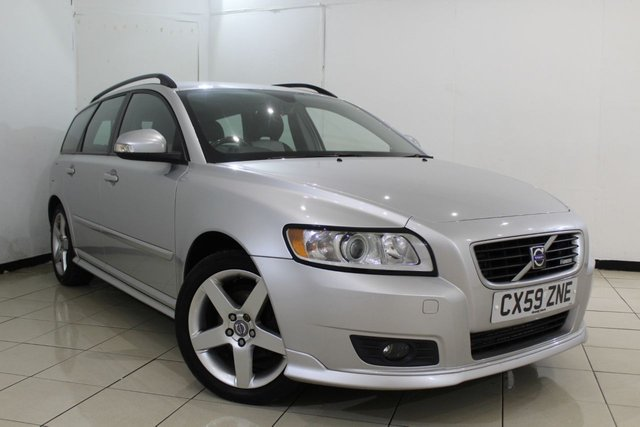 View our 2009 59 VOLVO V50 1.6 D DRIVE R-DESIGN 5DR 109 BHP