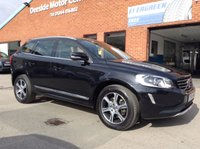 USED 2014 14 VOLVO XC60 2.0 D4 SE LUX 5d 178 BHP Only £30 a year road tax, Full service history,   Full leather upholstery,   Electric/Memory driver's seat,   Bluetooth,   DAB Radio,      Remotely operated tailgate,      Front & Rear parking sensors