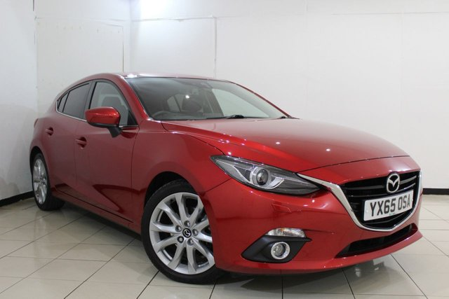 View our 2015 65 MAZDA 3 2.0 SPORT NAV 5DR 118 BHP