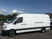 USED 2012 12 MERCEDES-BENZ SPRINTER 2.1 513 CDI LWB HIGH ROOF AC, RARE 5 TONNE, MERCEDES OWNED, FULL DEALER HISTORY
